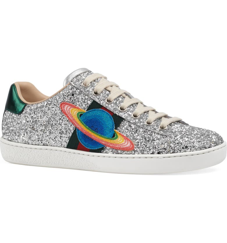 GUCCI 'New Ace' Low Top Sneaker, Main, color, 041