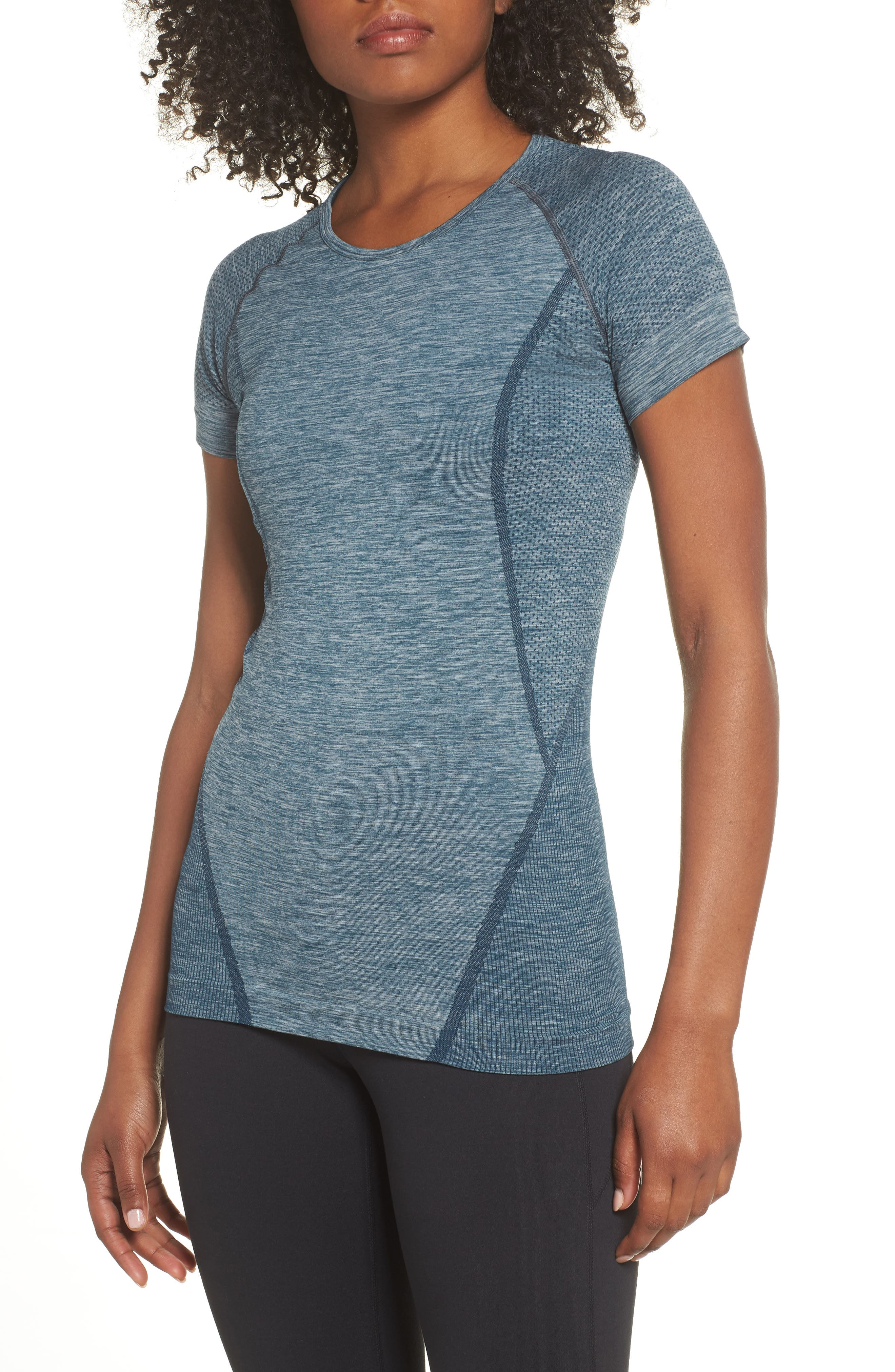 ,                             Stand Out Seamless Training Tee,                             Main thumbnail 66, color,                             449