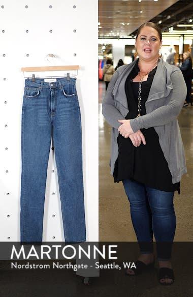 Liza High Waist Straight Leg Jeans, sales video thumbnail