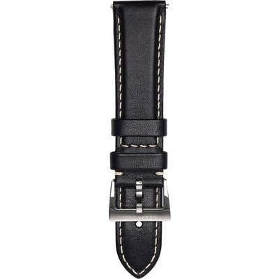 Jack Mason Leather Strap, 22Mm