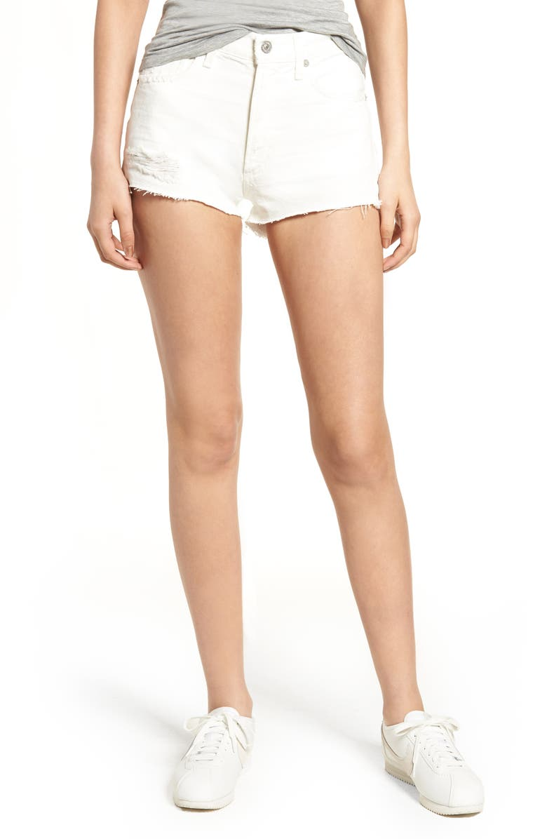 CITIZENS OF HUMANITY Danielle Cutoff Denim Shorts, Main, color, 115