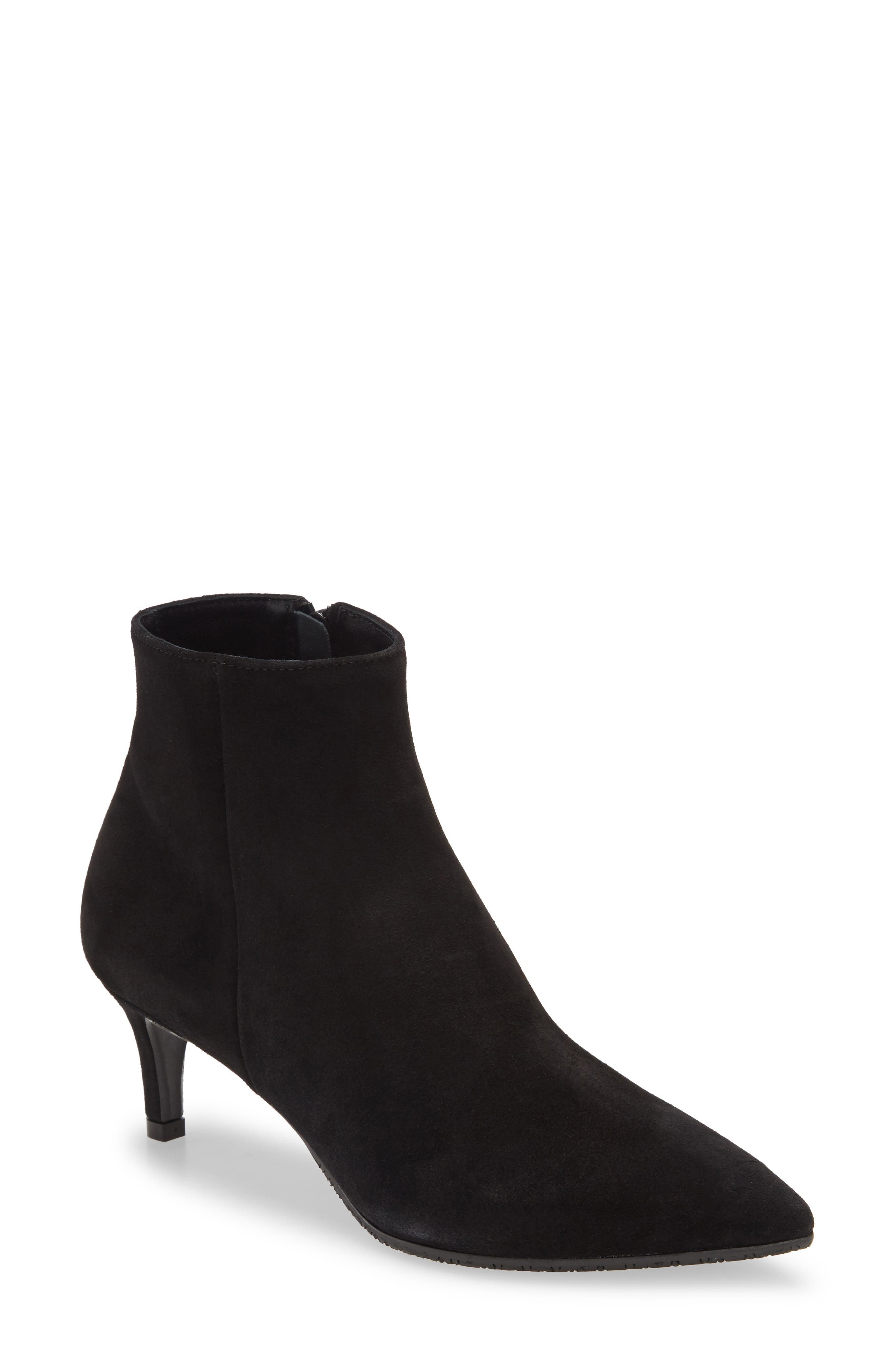 A kitten heel brings sophisticated height to this pointed-toe bootie with a flexible sole and light padding for all-day comfort and adaptability. Style Name: Cordani Garvie Pointed Toe Bootie (Women). Style Number: 6102544. Available in stores.