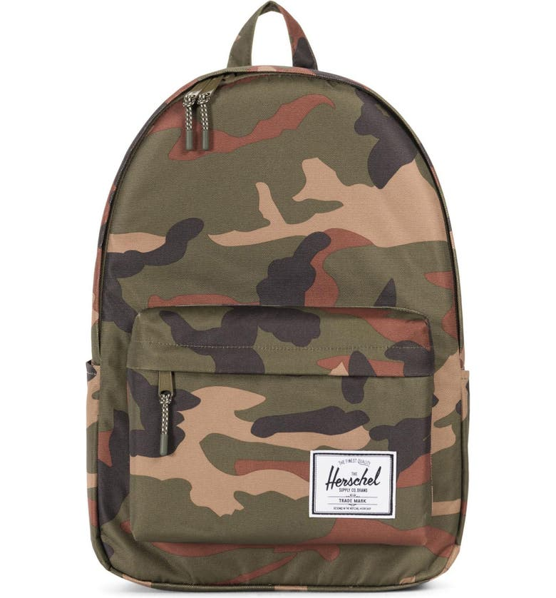 HERSCHEL SUPPLY CO. Classic XL Backpack, Main, color, WOODLAND CAMO