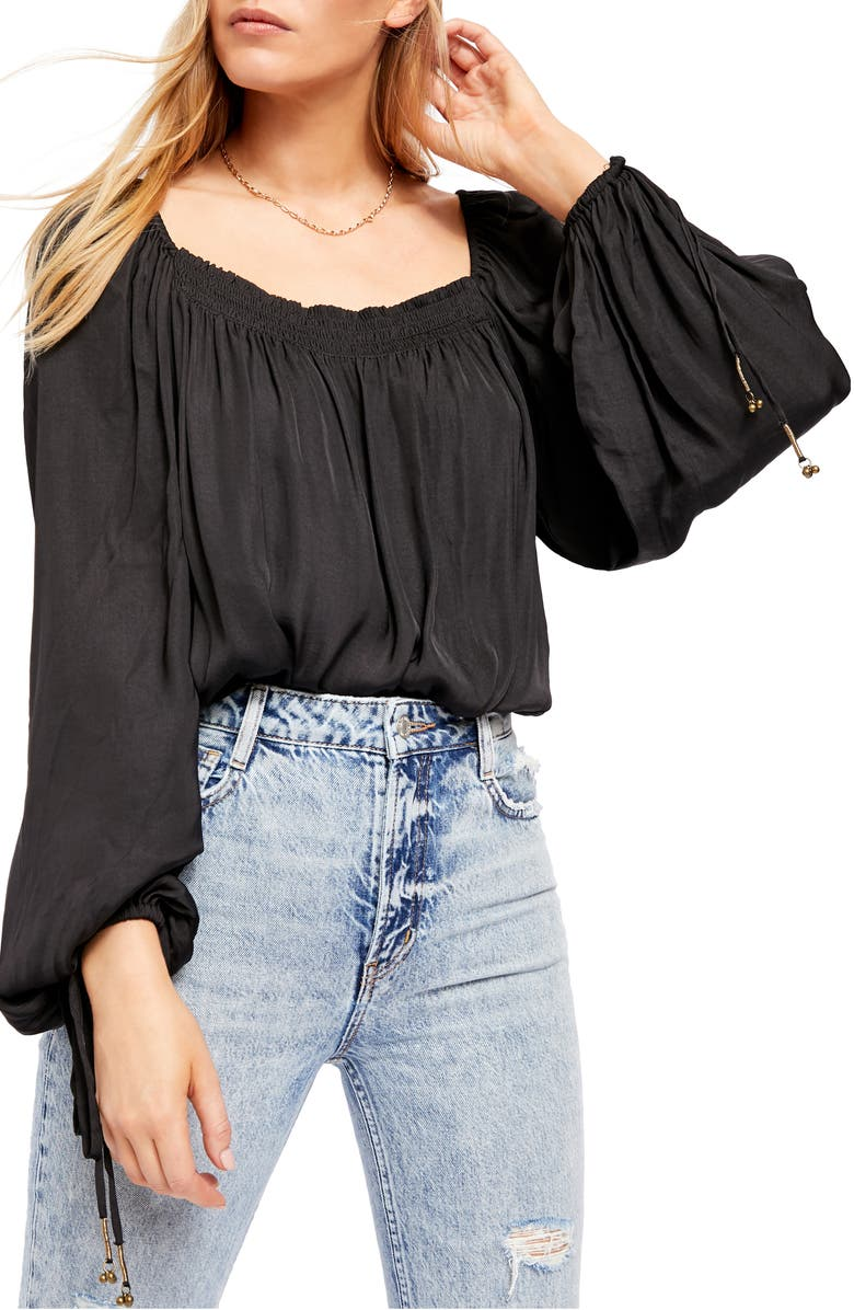 FREE PEOPLE Another Round Bodysuit, Main, color, 001
