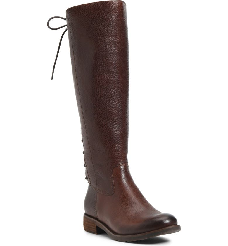 SÖFFT Sharnell II Waterproof Knee High Boot, Main, color, WHISKEY LEATHER