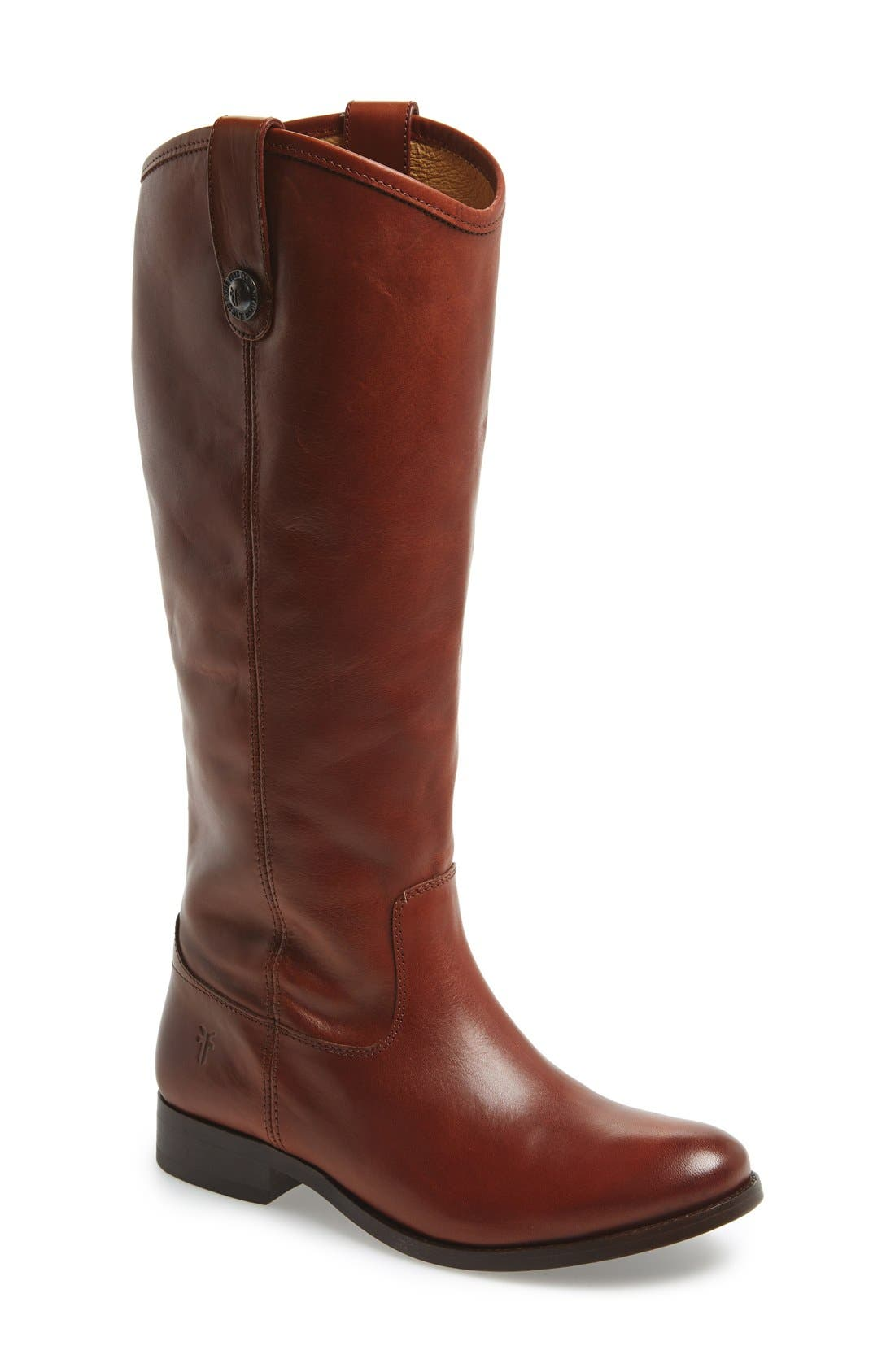 ,                             'Melissa Button' Leather Riding Boot,                             Main thumbnail 118, color,                             235