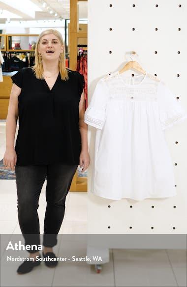 Lace Trim Shift Dress, sales video thumbnail