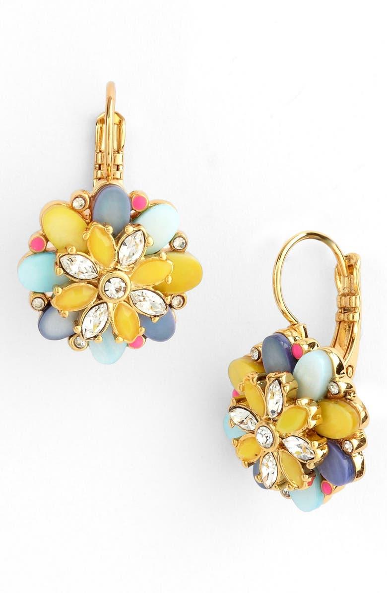 KATE SPADE NEW YORK 'bungalow bouquet' drop earrings, Main, color, 400