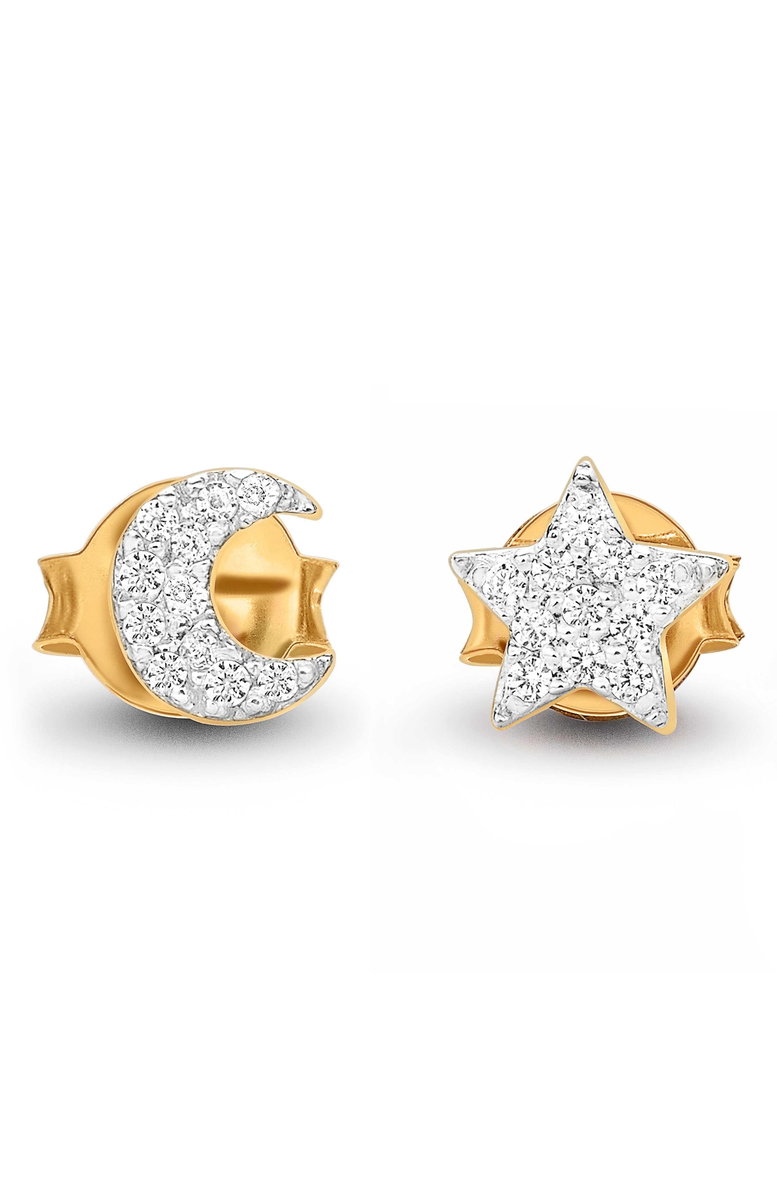 Star Struck Pave Stud Earrings