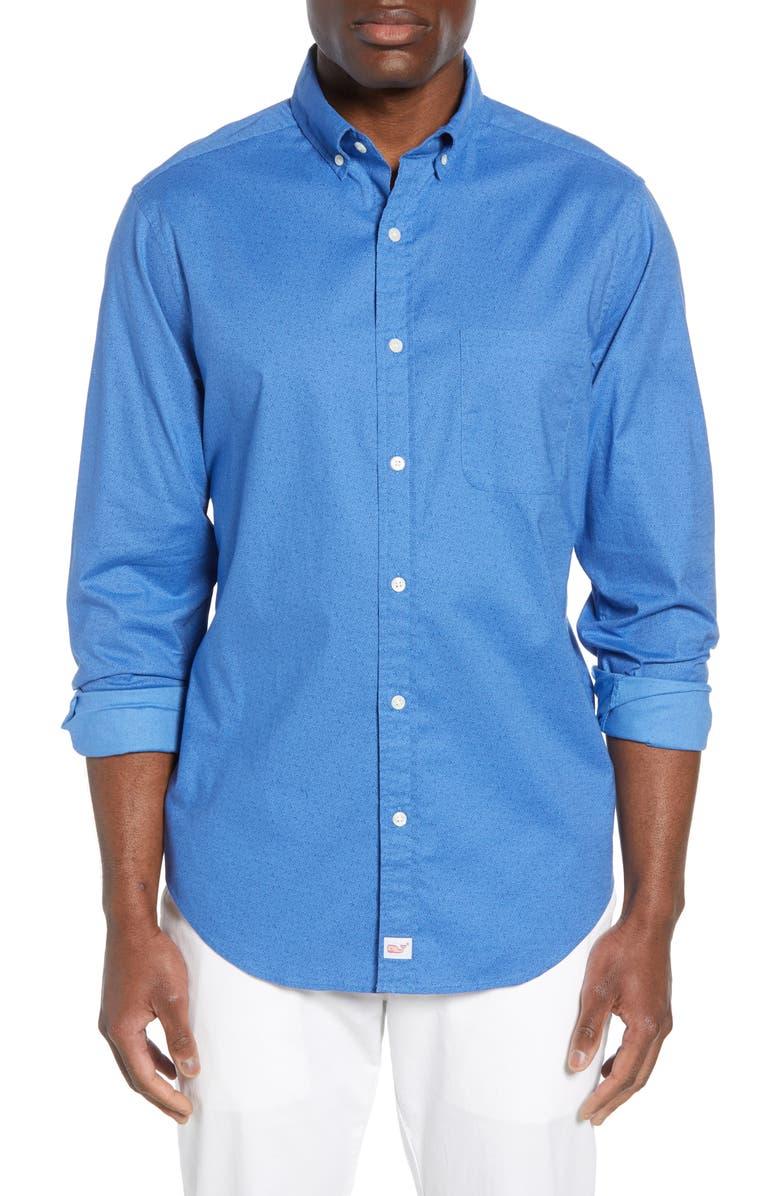 Vineyard Vines Murray Classic Fit Mini Starfish Shirt