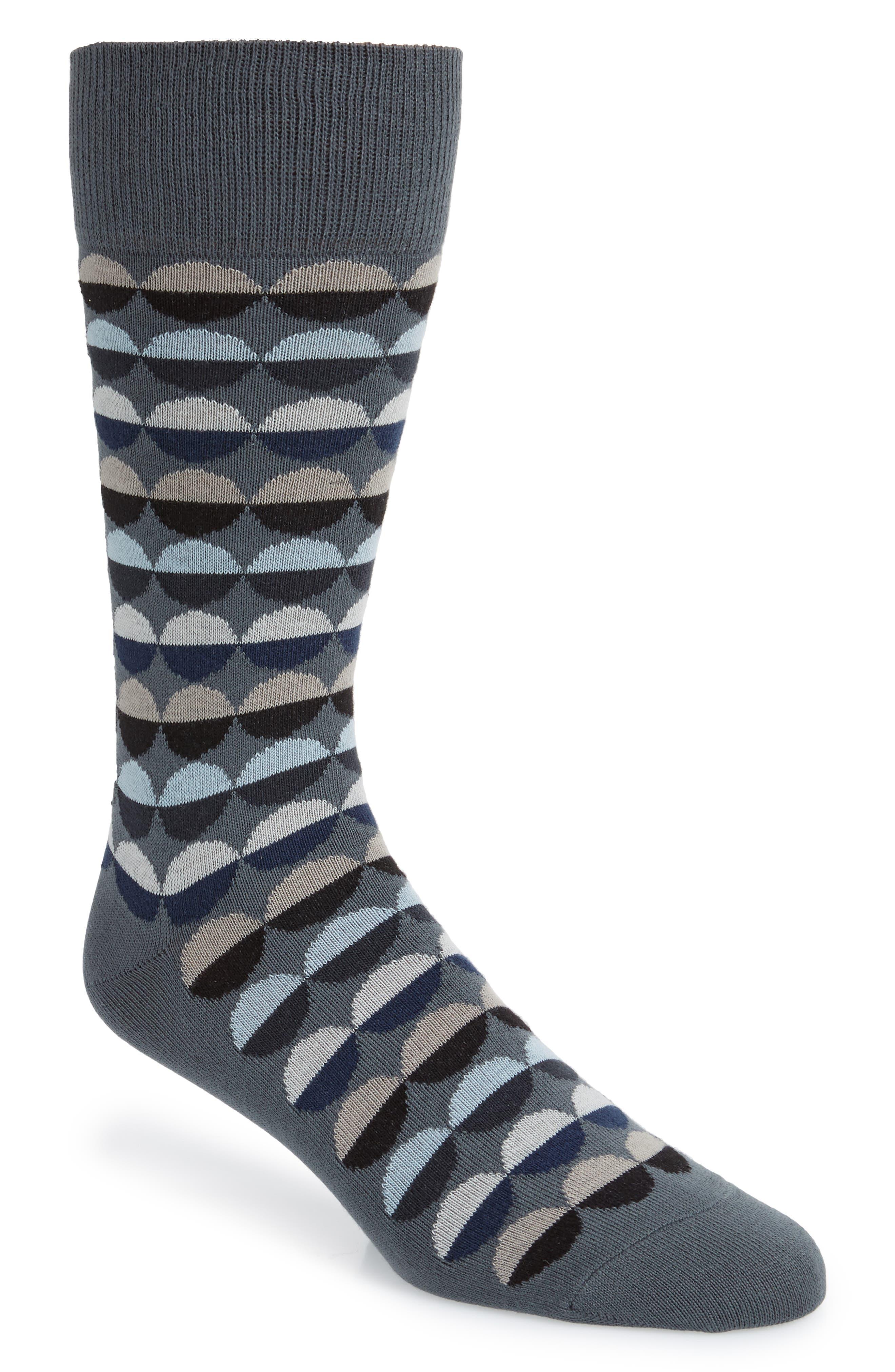 Sunset Dot Socks, Main, color, 300