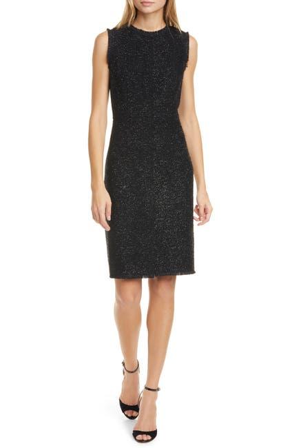 Image of kate spade new york Tinsel Tweed Sleeveless Dress