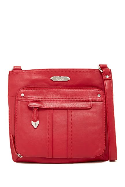 Image of Perlina Nappa Leather Crossbody