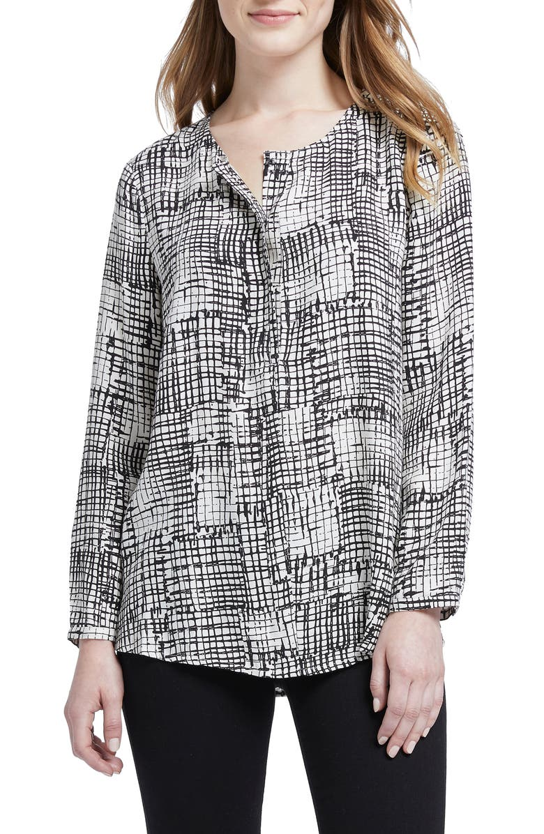 NIC+ZOE Fine Tune Graphic Print Top, Main, color, MULTI