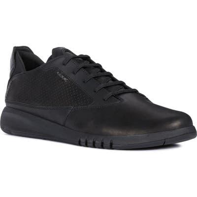 Geox Aerantis 1 Sneaker, Black