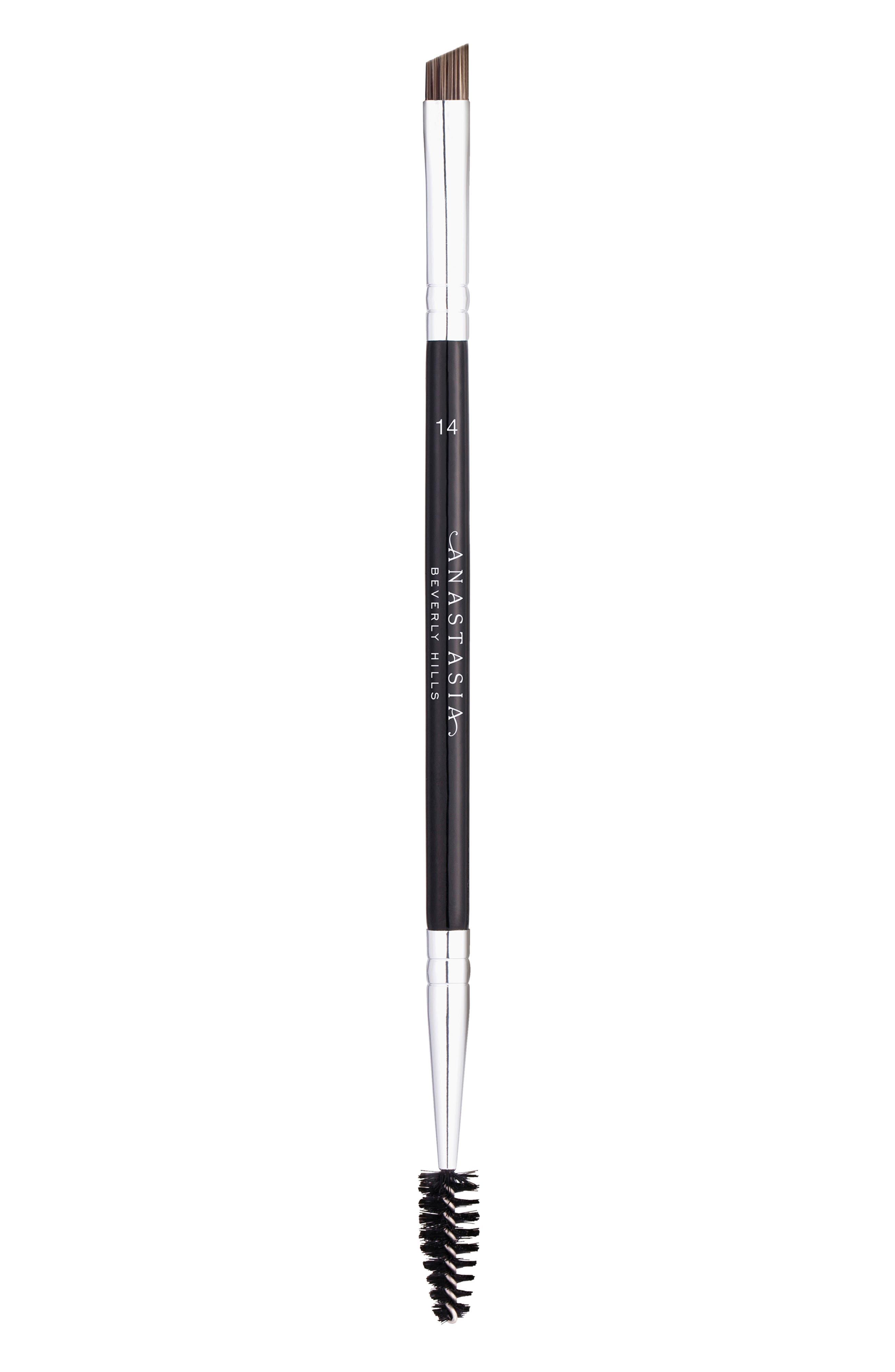 #14 Dual-Sided Brow & Eyeliner Brush | Nordstrom