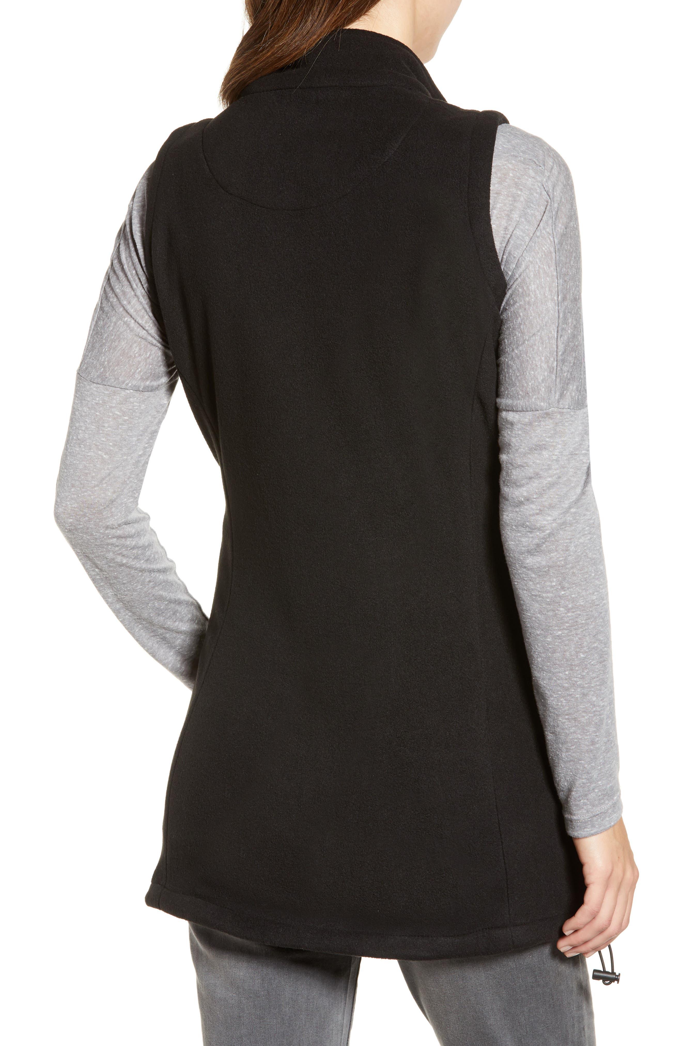 ,                             Booker Maternity Vest,                             Alternate thumbnail 2, color,                             BLACK