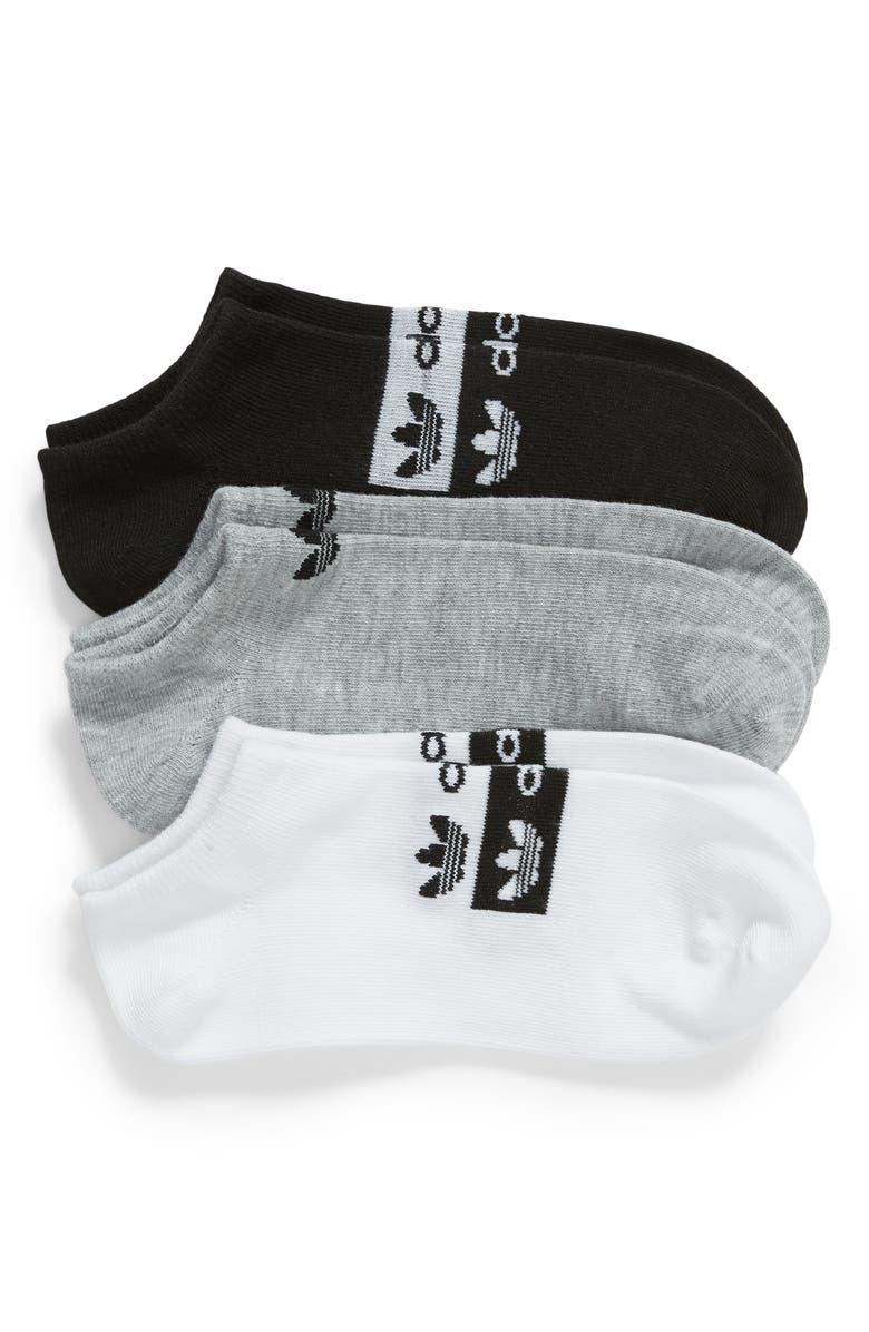 Adidas Originals Stacked Forum 3 Pack No Show Socks