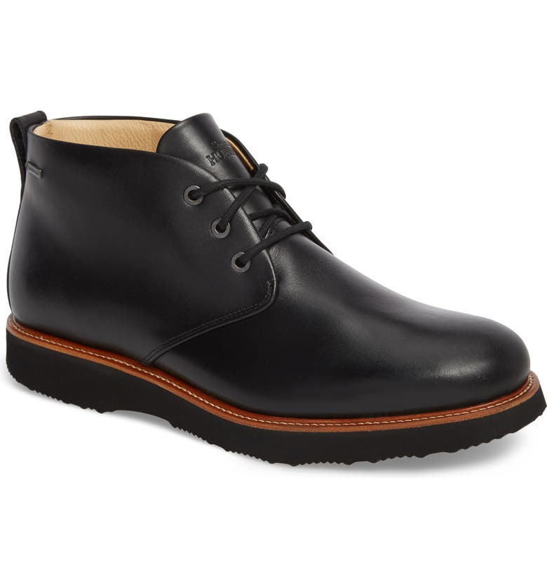 SAMUEL HUBBARD Re-Boot Waterproof Gore-Tex<sup>®</sup> Chukka Boot, Main, color, BLACK LEATHER
