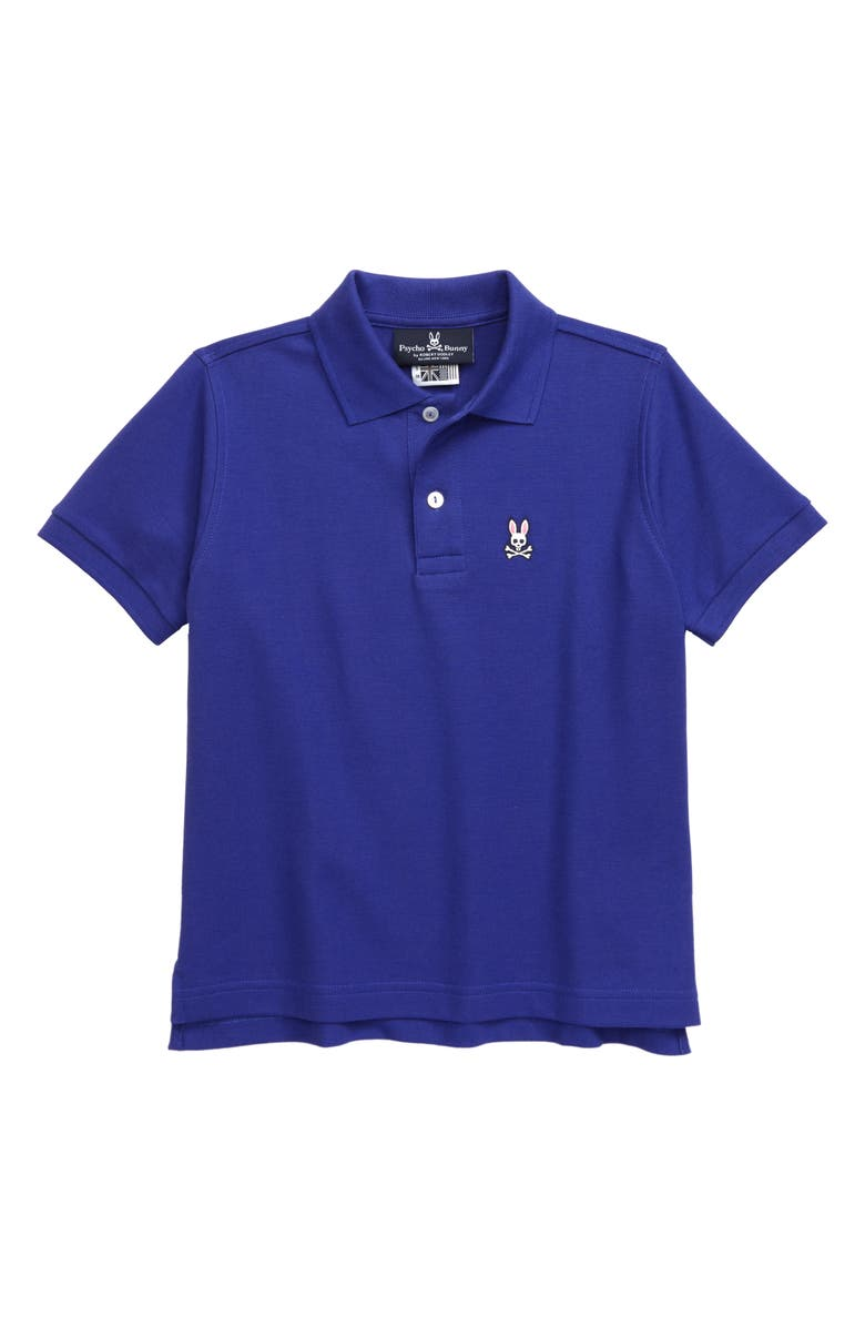 PSYCHO BUNNY Classic Polo, Main, color, CLEMATIS