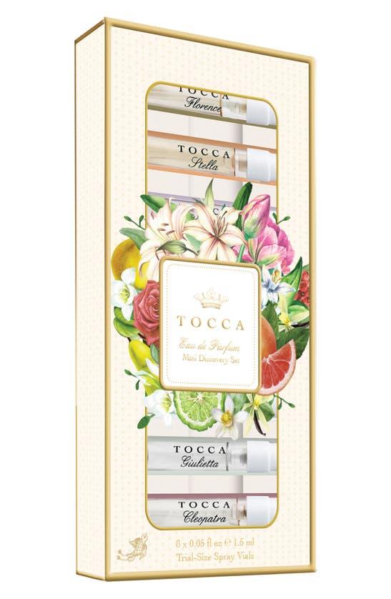 Tocca Beauty sets TRAVEL SIZE EAU DE PARFUM DISCOVERY SET (USD $28 VALUE)