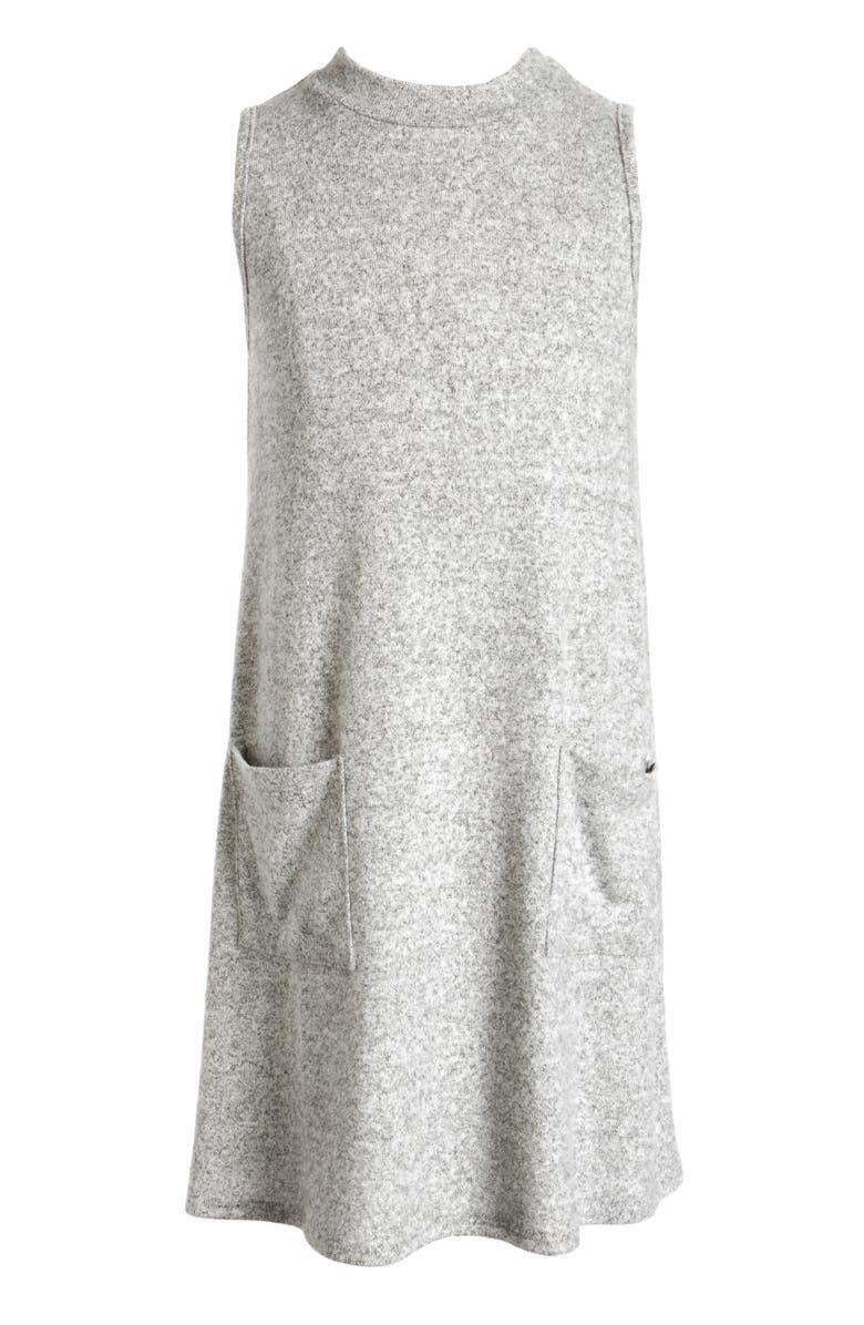 FOR ALL SEASONS Mock Neck Dress, Main, color, 021