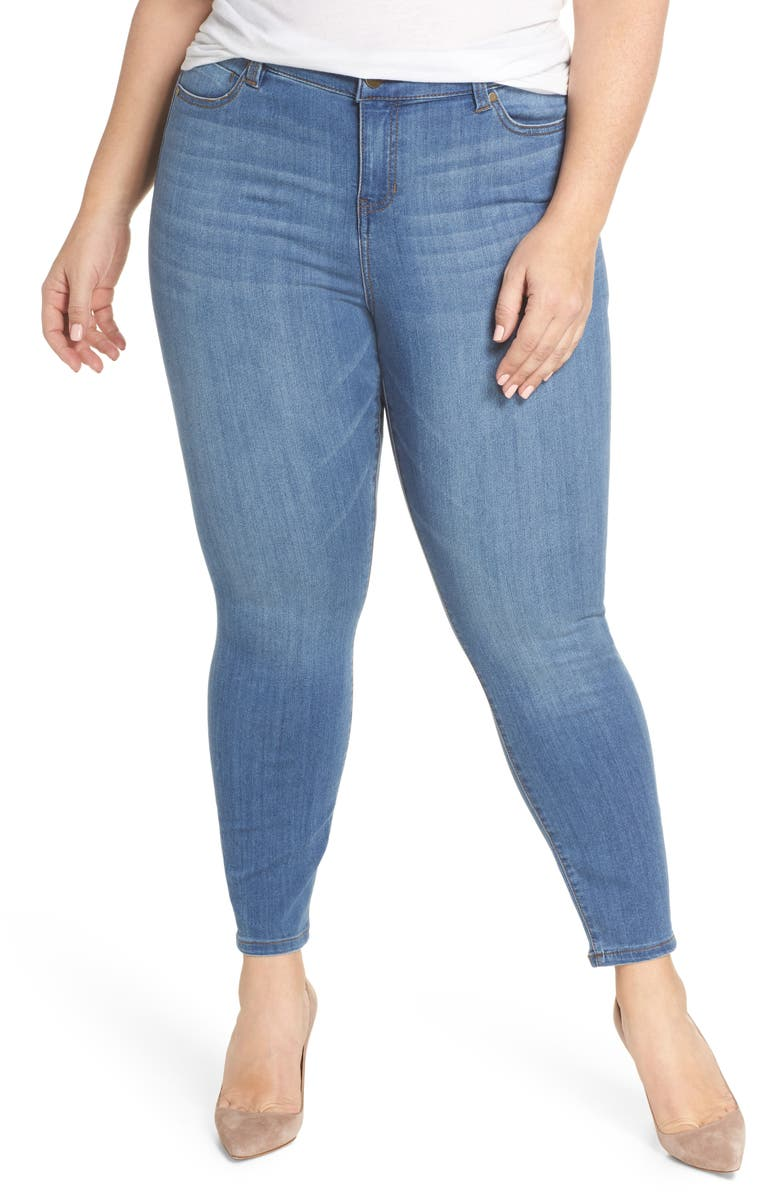 LIVERPOOL Penny Ankle Jeans, Main, color, 404