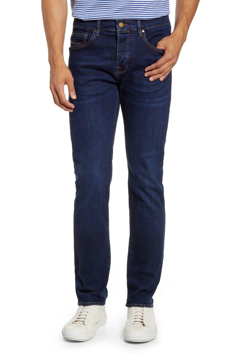 TED BAKER LONDON Slim Fit Straight Leg Jeans, Main, color, BLUE