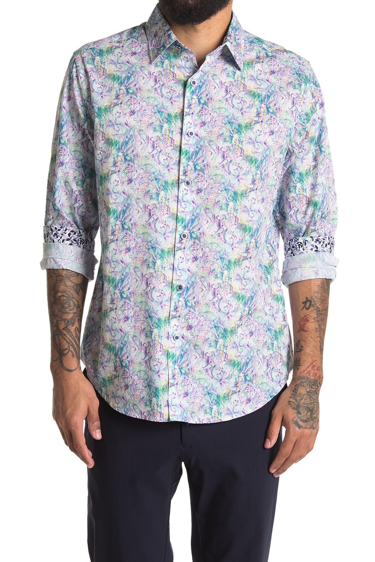 Image of Robert Graham Faywood Long Sleeve Woven Shirt