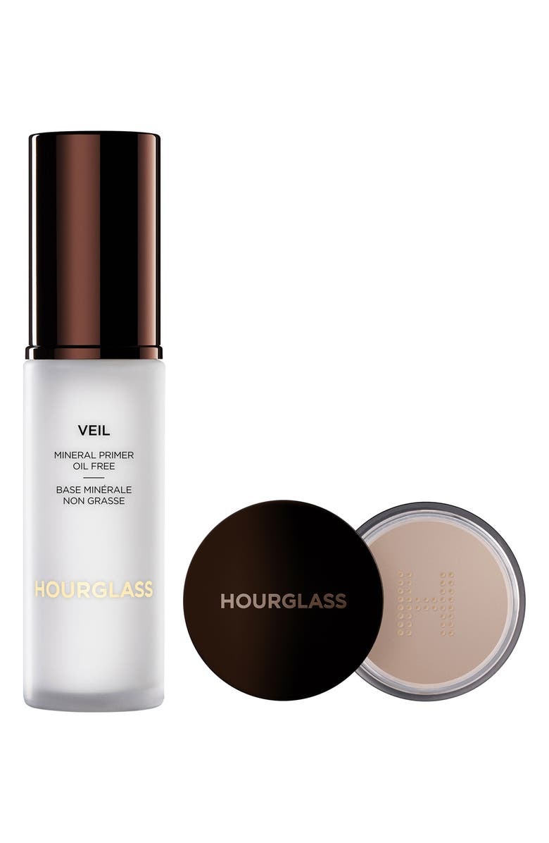 HOURGLASS Veil Mineral Primer & Translucent Setting Powder Duo, Main, color, NO COLOR