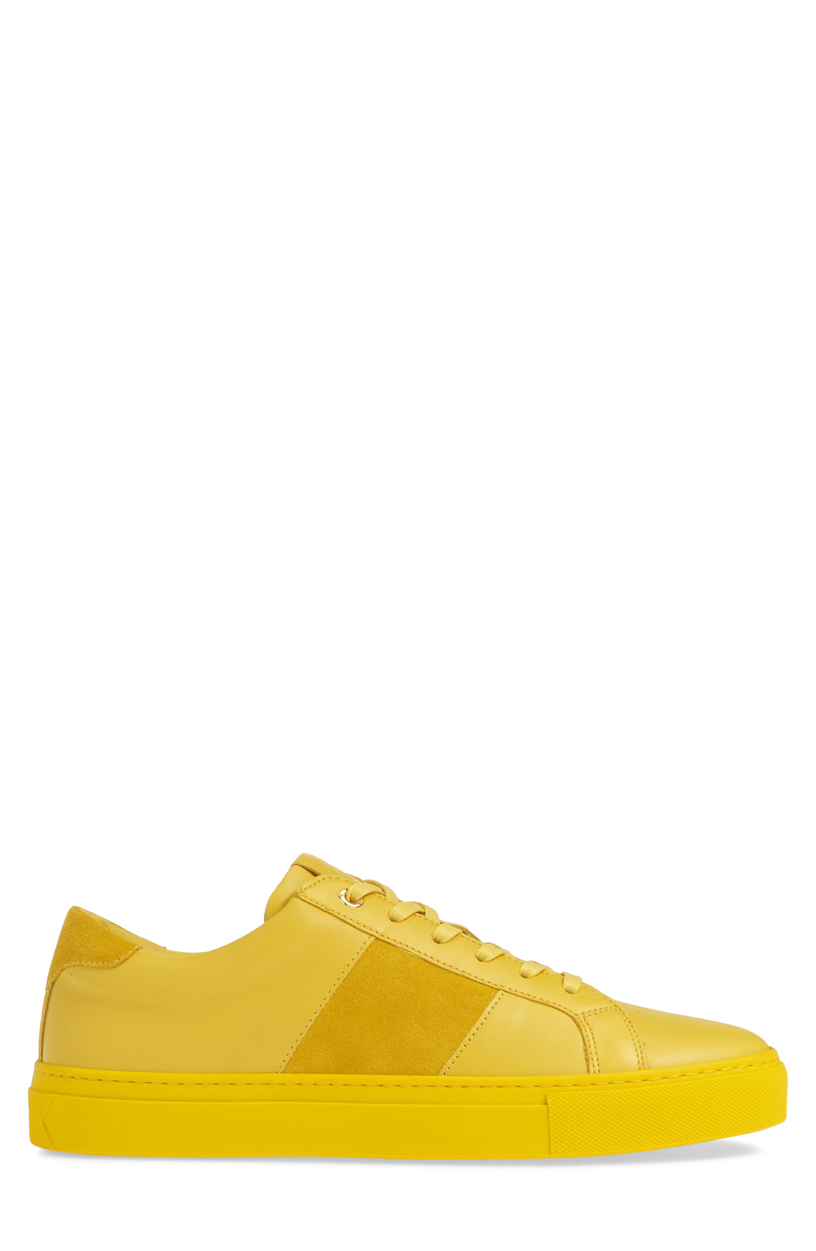 ,                             Royale Sneaker,                             Alternate thumbnail 3, color,                             YELLOW LEATHER