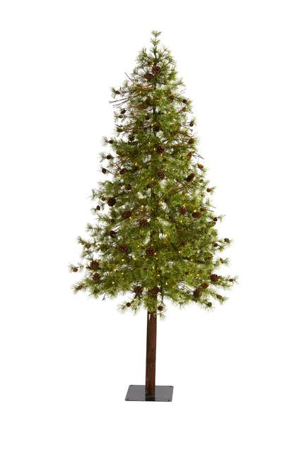 Image of NEARLY NATURAL 7ft. Wyoming Alpine Artificial Christmas Tree