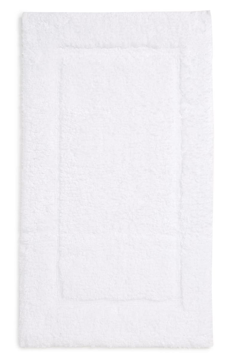 MATOUK Milagro Bath Rug, Main, color, WHITE