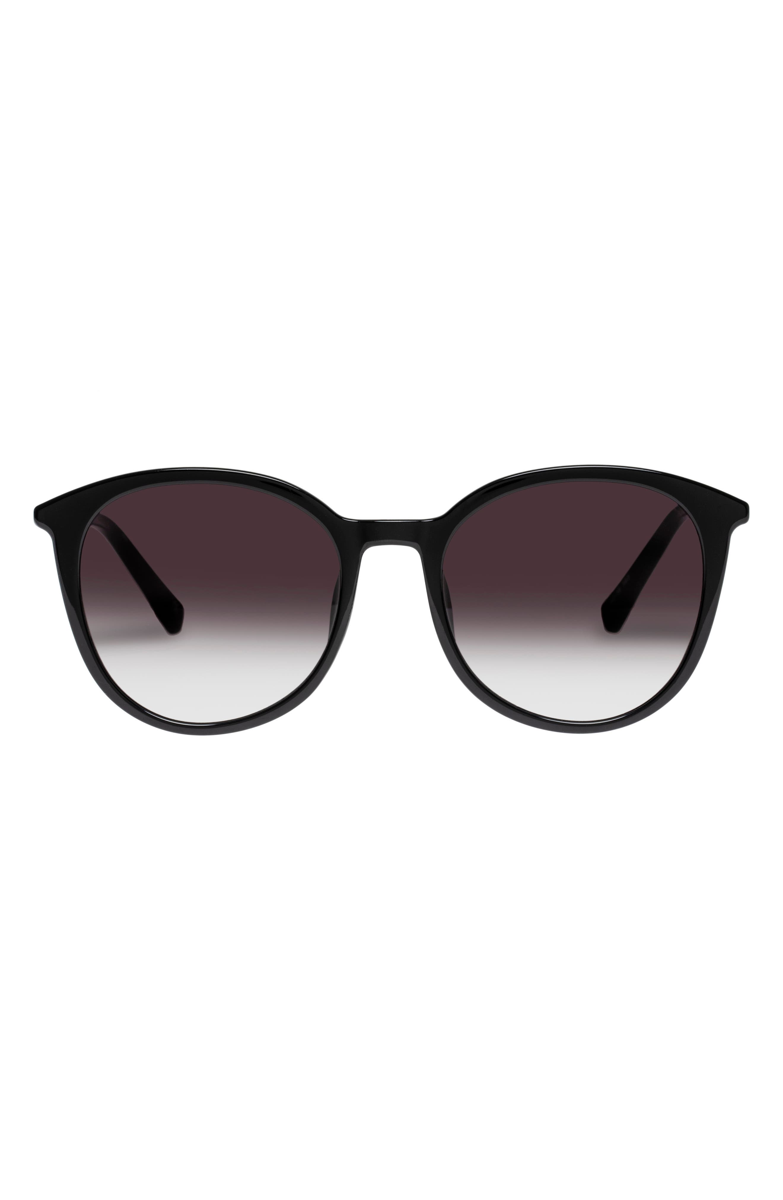 Le Danzing 52mm Gradient Round Sunglasses