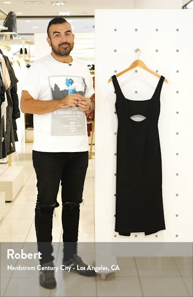 Nadia Cutout Midi Dress, sales video thumbnail