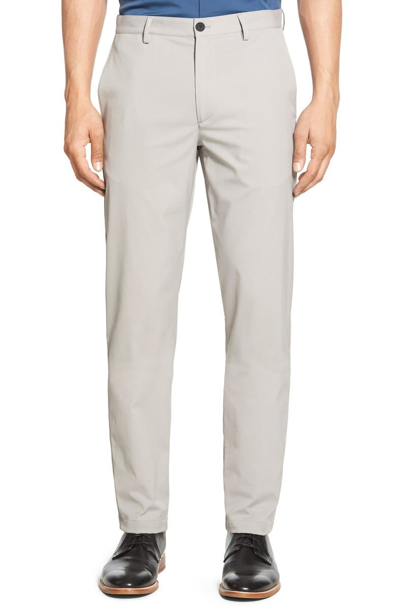 THEORY Zaine Neoteric Slim Fit Pants, Main, color, WINTER SKY