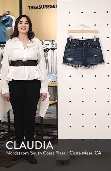 501<sup>®</sup> Denim Shorts, sales video thumbnail