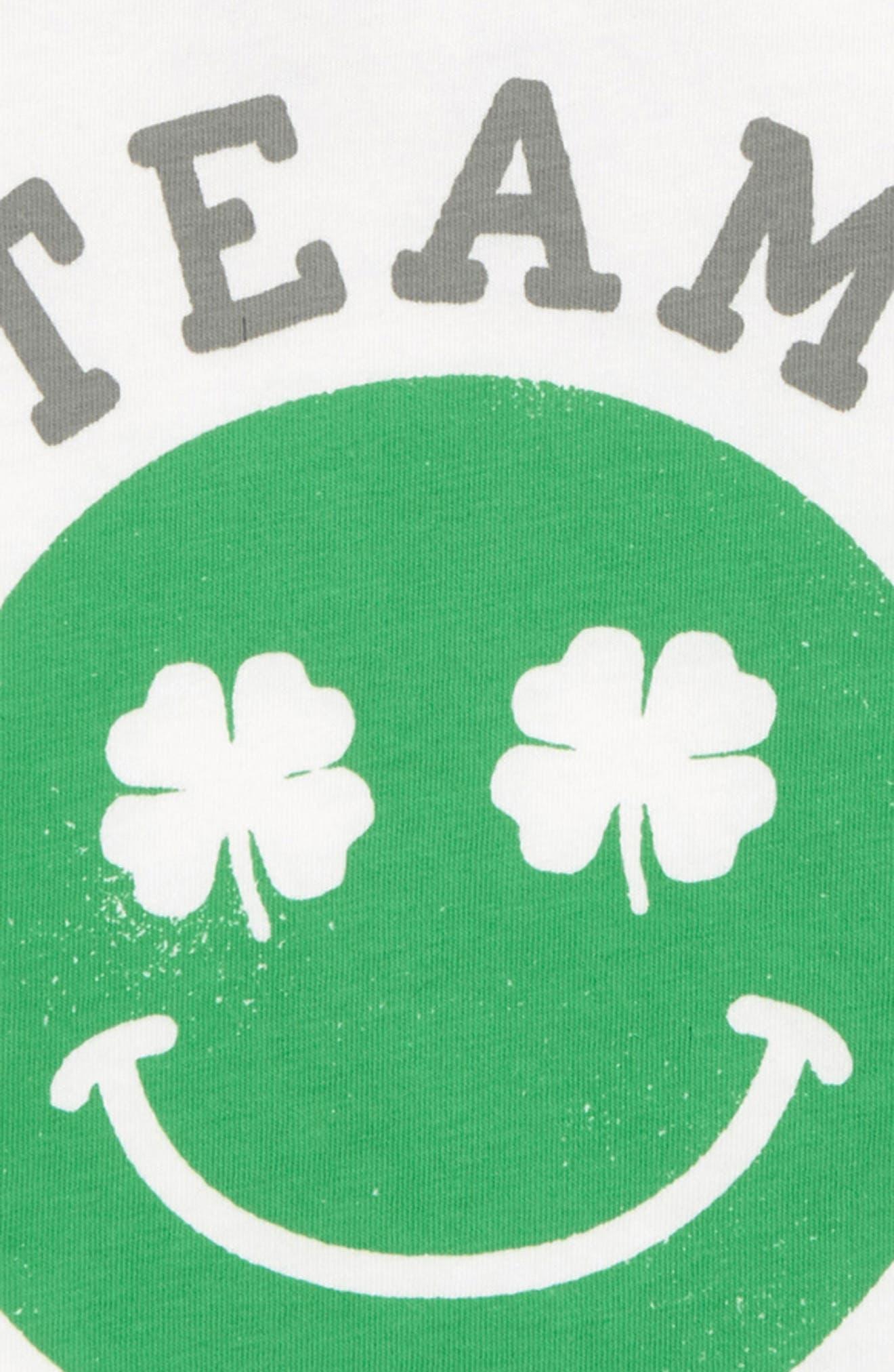 ,                             Peek Team Lucky Graphic T-Shirt,                             Alternate thumbnail 2, color,                             300