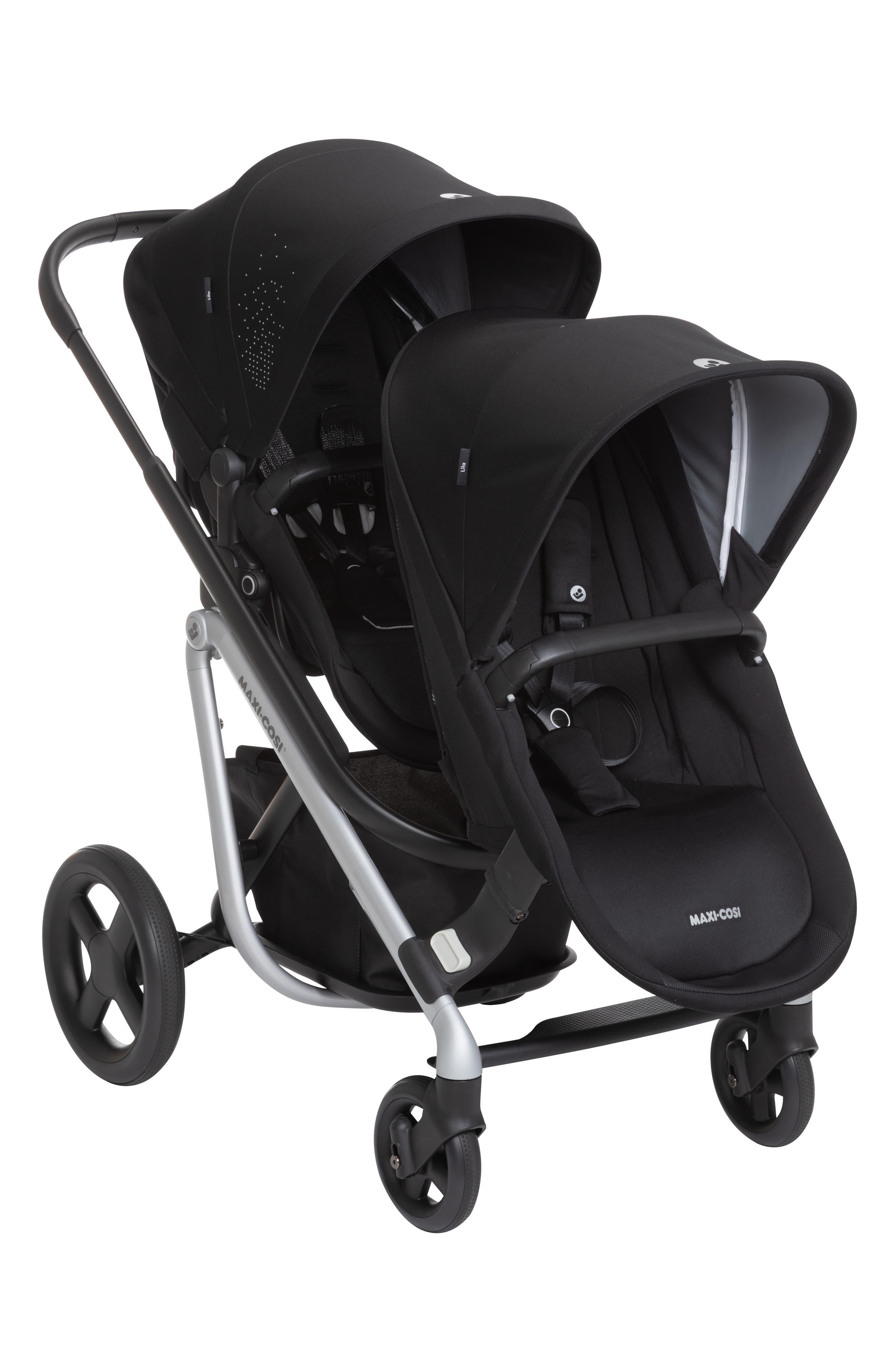 Infant MaxiCosi Lila Duo Sibling Seat Kit Size One Size  Black