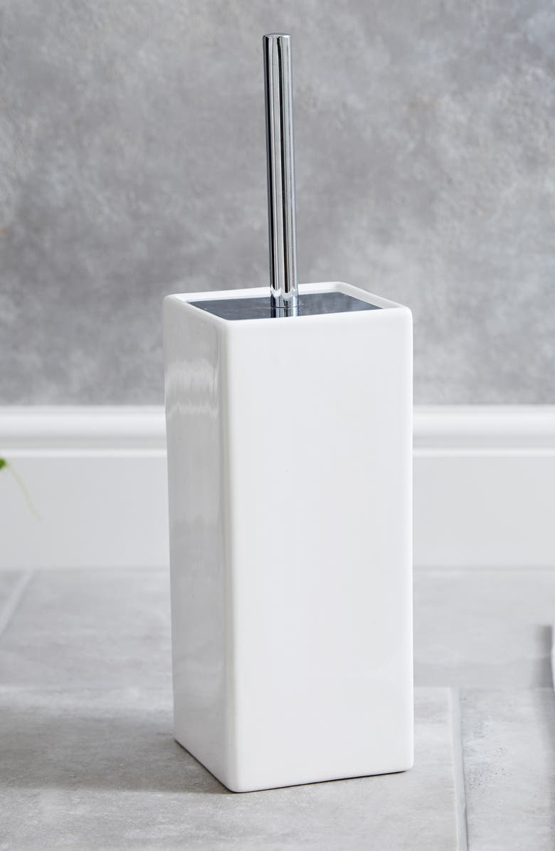 THE WHITE COMPANY Newcombe Toilet Brush Holder, Main, color, 100