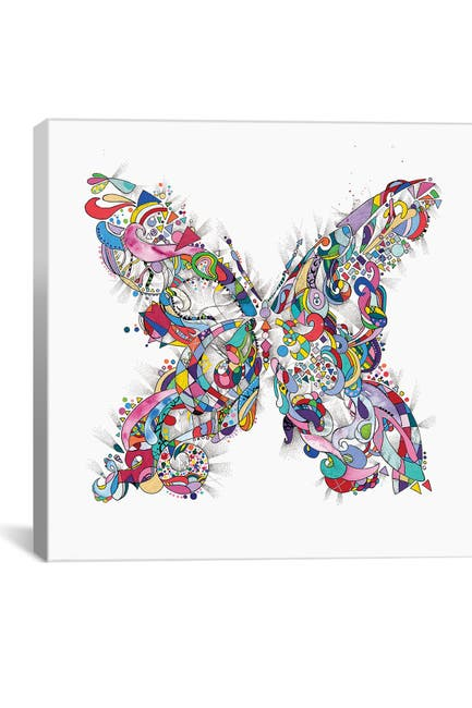 Image of iCanvas Butterfly by Jason Humphrey