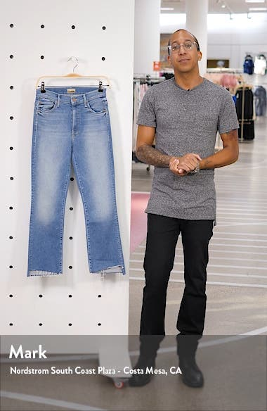 The Insider Crop Step Fray Jeans, sales video thumbnail