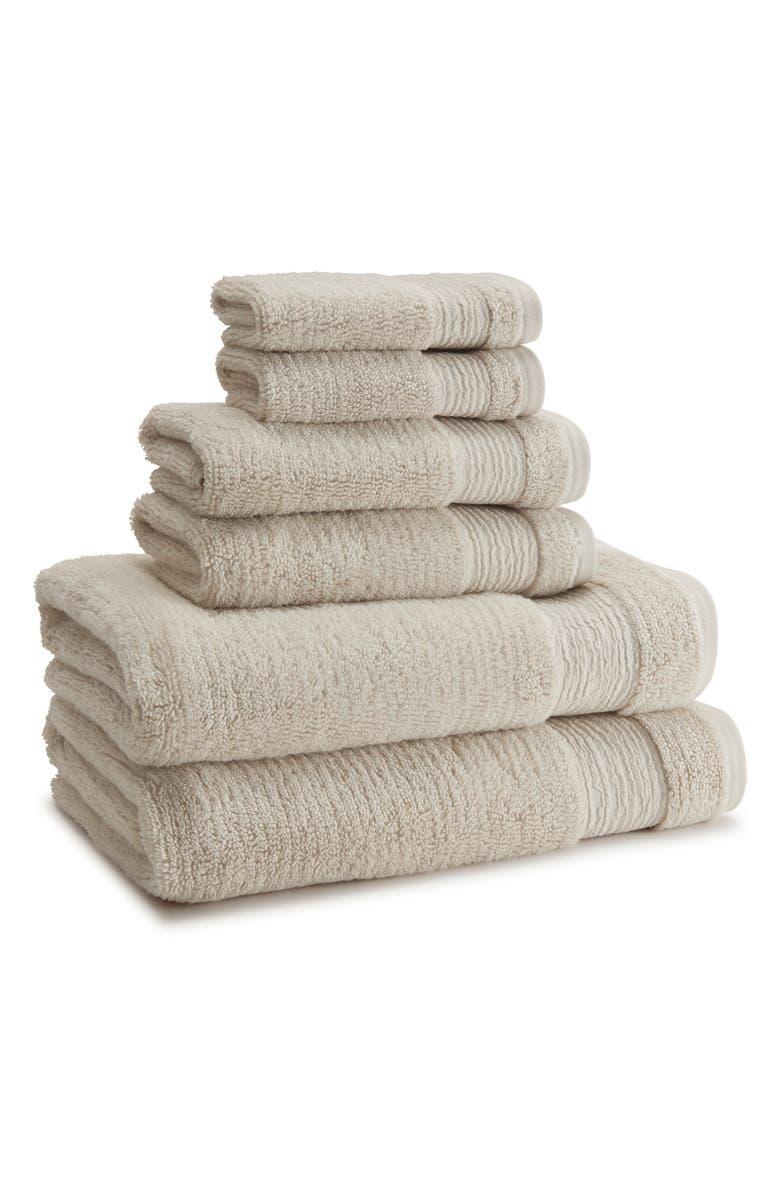 KASSATEX Pergamon Hand Towel, Main, color, AVENA