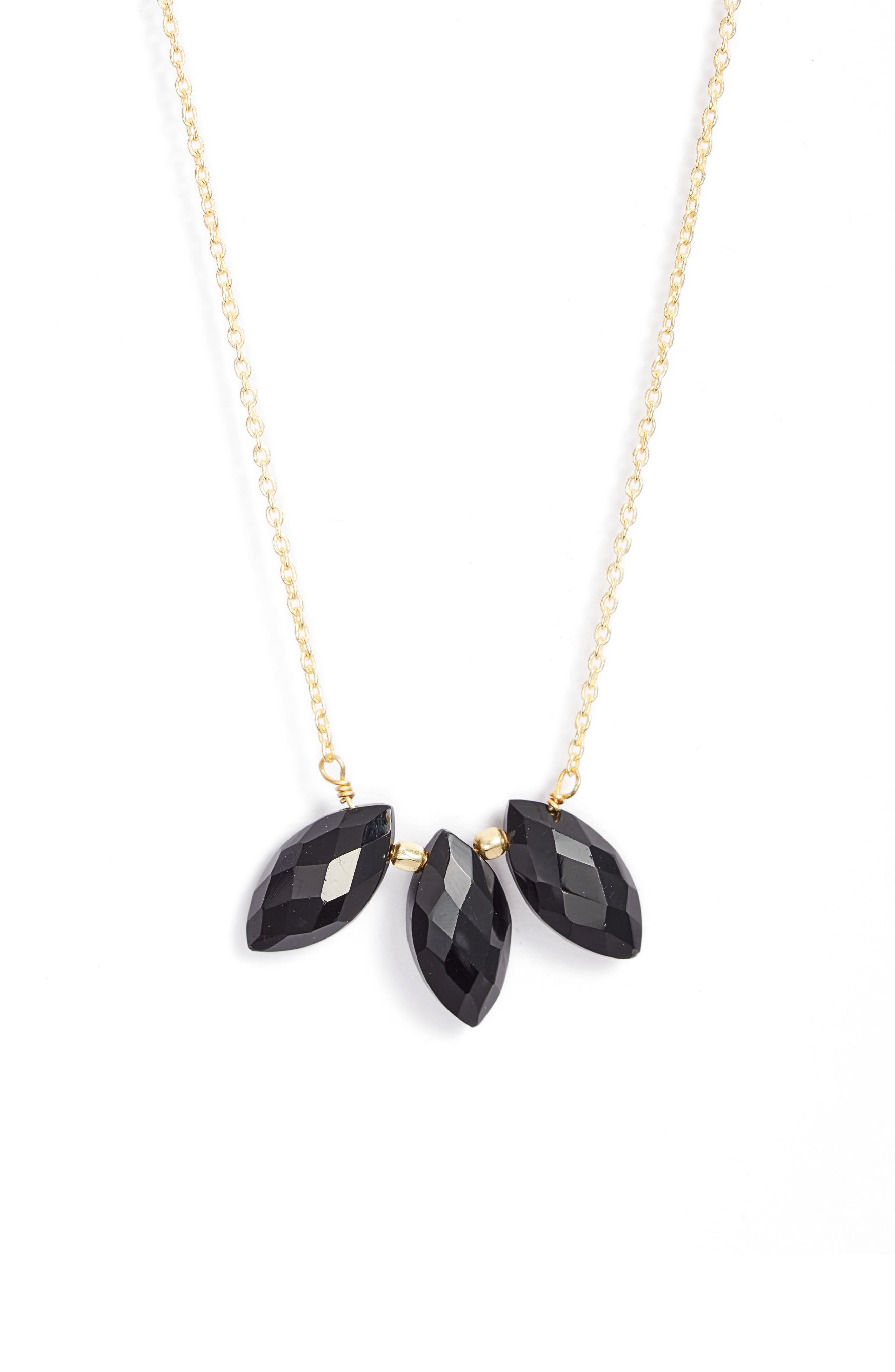 Emmeline Beaded Charm Necklace
