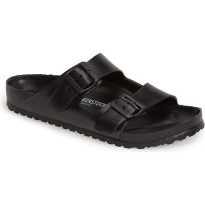 Birkenstock Essentials - Arizona Eva Waterproof Slide Sandal,9.5 - Black