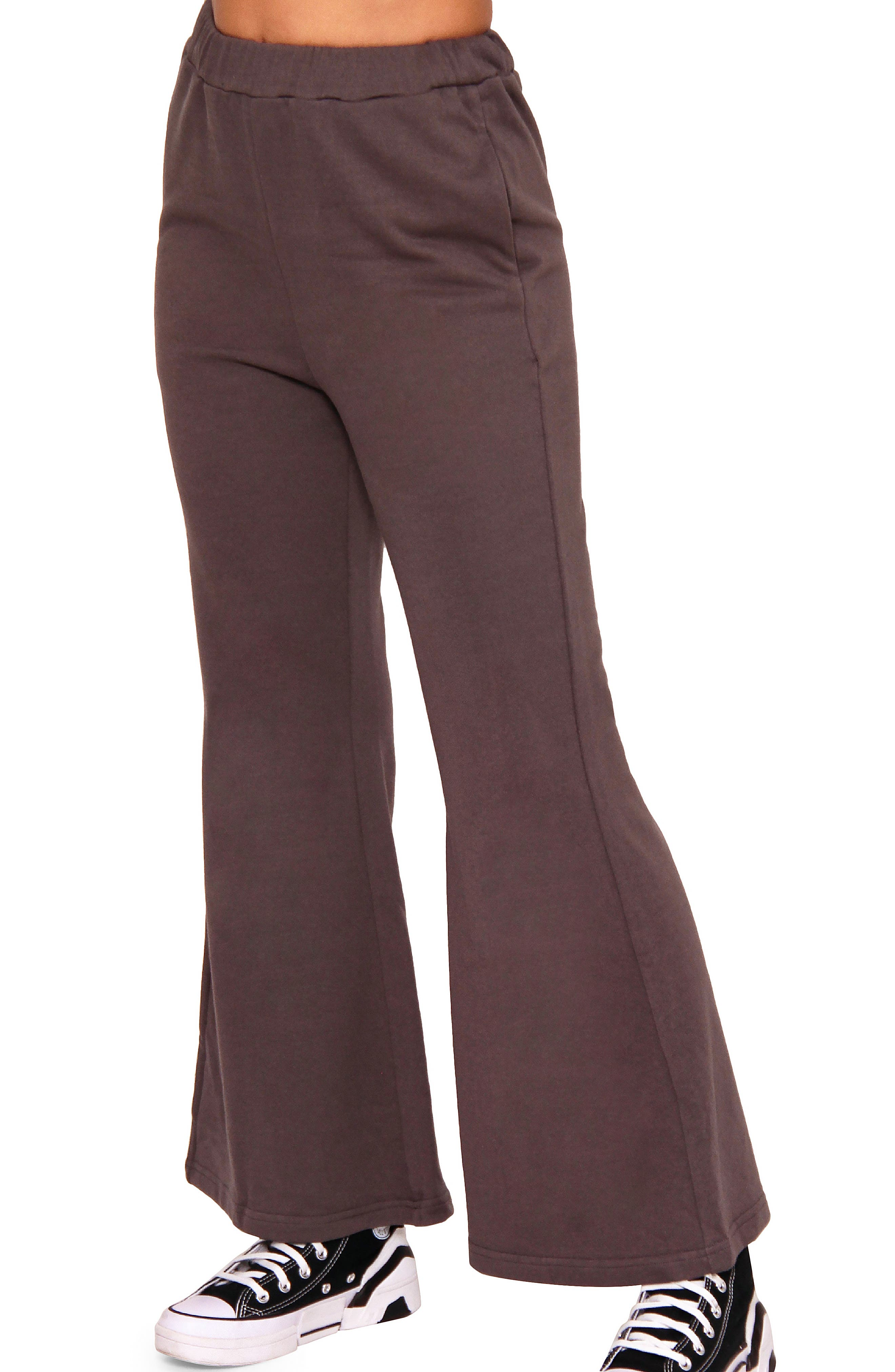 Polly Jersey Bell Bottom Pants
