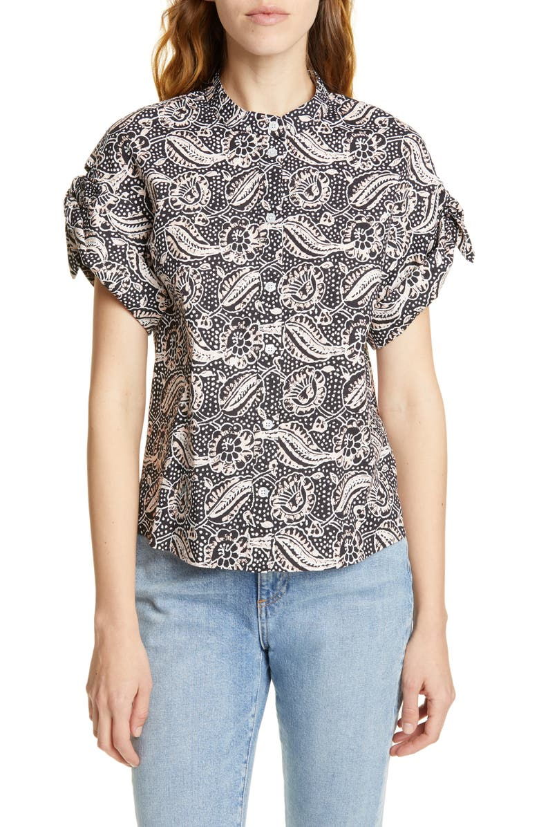 Sanaa Floral Print Shirt by Veronica Beard