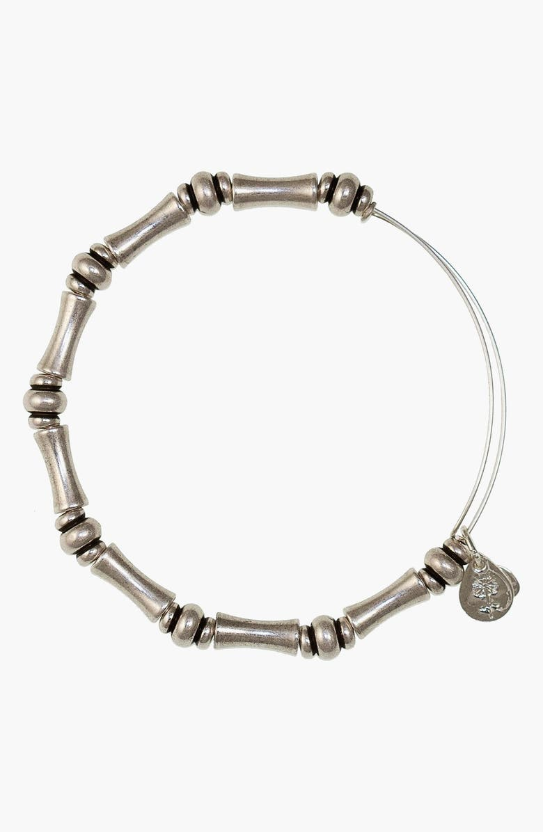 ALEX AND ANI 'Bamboo Motif' Expandable Wire Bracelet, Main, color, 040