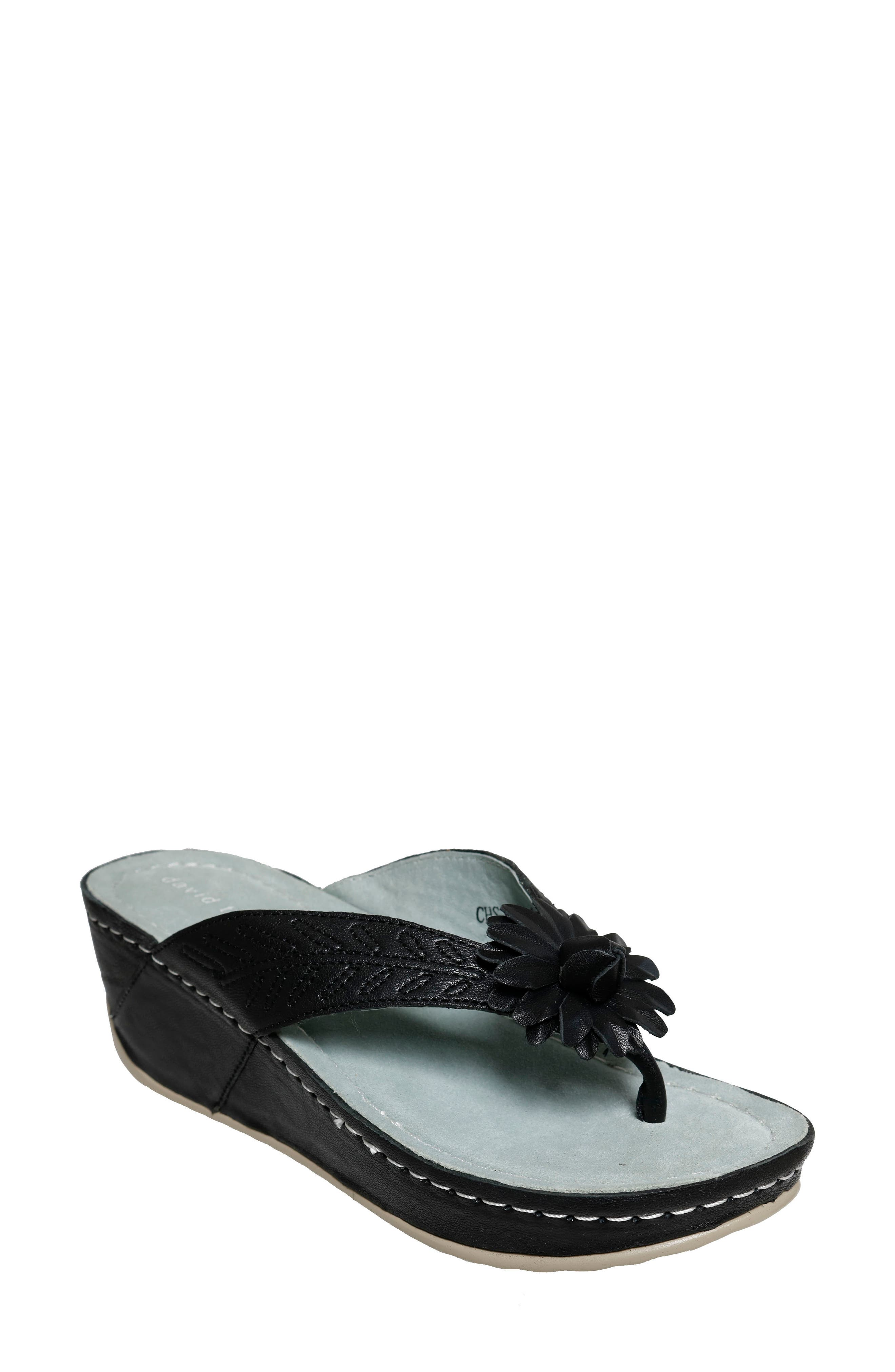 Goldie Wedge Flip Flop