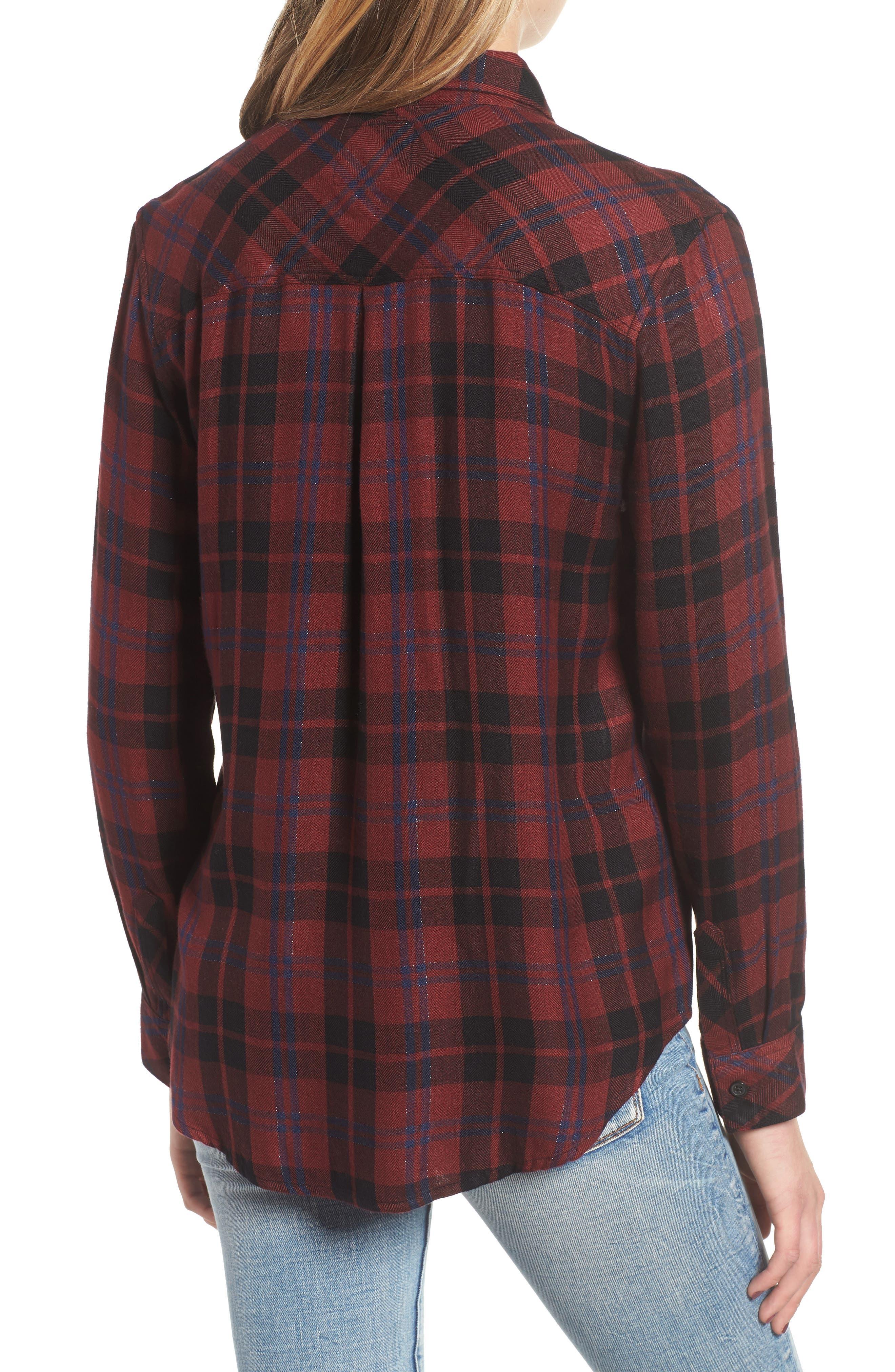 ,                             Hunter Plaid Shirt,                             Alternate thumbnail 433, color,                             932